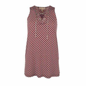 NWT Michael Kors Lace-Up Hardware Top Blouse